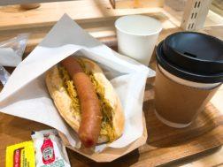 STORY CAFEのバー「吾兵衛」のホットドック570円