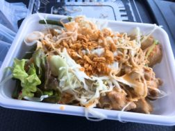 Little Kitchen Soleilの鉄板鶏飯肉650円