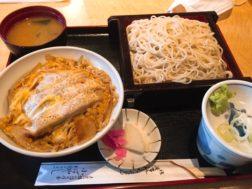 小ばやしのカツ丼セット1,000円